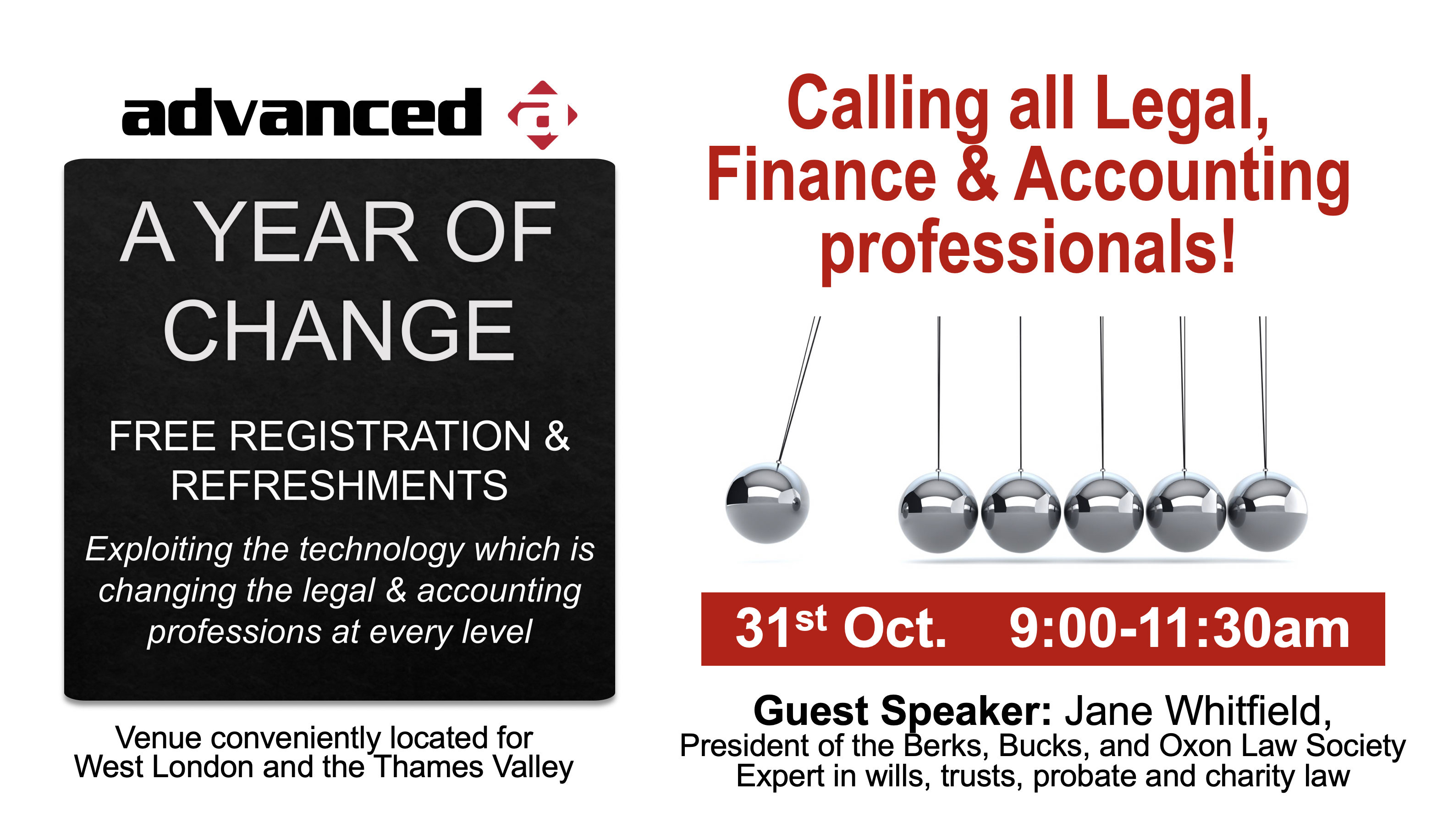 Legal, Finance and Accounting Briefing 31 Oct 2019