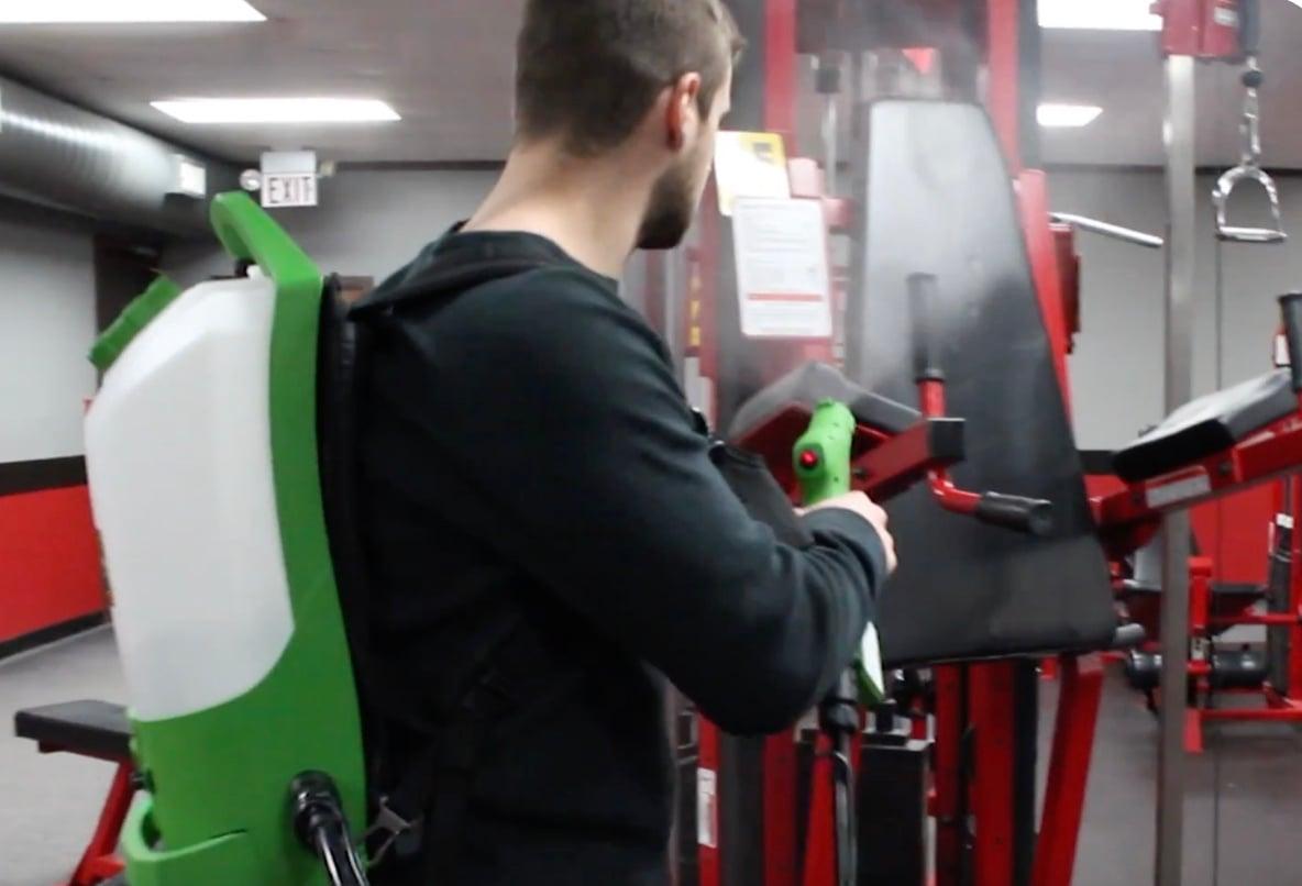 PPE Electrostatic Backpack Sprayer