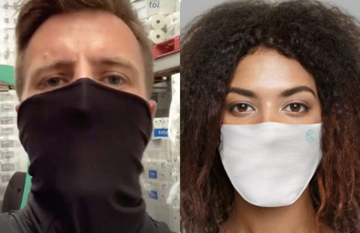 SCIIN PPE Face Masks and Snoods
