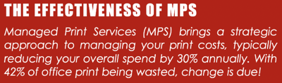 The Effectiveness of Managed Print Service