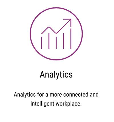 Xerox Intelligent Workplace Services - Analytics